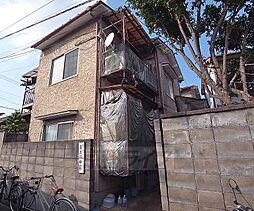 京都府京都市左京区田中上柳町の賃貸アパートの外観