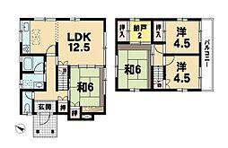[一戸建] 滋賀県近江八幡市中小森町 の賃貸【/】の間取り