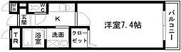 シャン・ド・フルール岸和田[305号室]の間取り