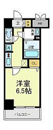 ボンニー松崎町[2階]の間取り