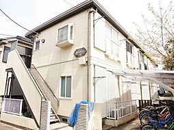 埼玉県草加市旭町4の賃貸アパートの外観