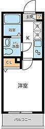 KWプレイス西新宿[1階]の間取り