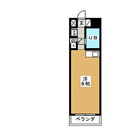 Komodokasa Miwa[2階]の間取り