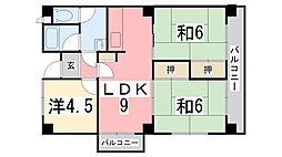 マンション外堀川[107号室]の間取り