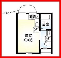東京都台東区千束2丁目の賃貸アパートの外観