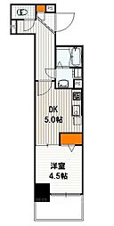 ベラジオ京都西大路II[8階]の間取り