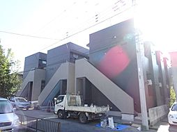 千葉県柏市北柏台の賃貸アパートの外観