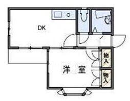 戸塚第20レジデンス[1階]の間取り