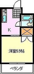 メゾンポートFuji[A103号室]の間取り