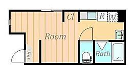 仮)松が枝町新築アパート[3階]の間取り