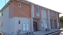 群馬県前橋市茂木町の賃貸アパートの外観