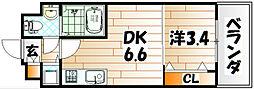No.71 オリエントトラストタワー[24階]の間取り