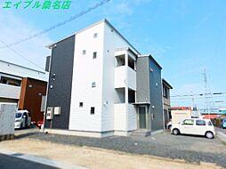 三重県桑名市大字安永の賃貸アパートの外観