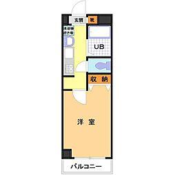 メゾン・ビ・セトルド[4階]の間取り