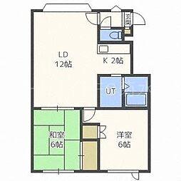 フォレスト439[3階]の間取り