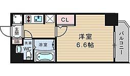リーガル京町堀II[506号室]の間取り