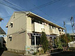 滋賀県大津市真野4丁目の賃貸アパートの外観