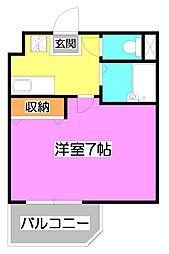埼玉県新座市東北2-の賃貸マンションの間取り