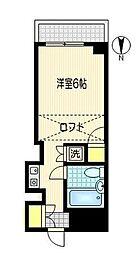 神奈川県川崎市川崎区小川町の賃貸マンションの間取り