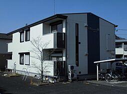 栃木県鹿沼市鳥居跡町の賃貸アパートの外観