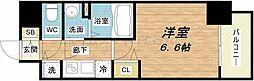 セオリー大阪城サウスゲート[2階]の間取り