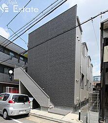 愛知県名古屋市中川区石場町3丁目の賃貸アパートの外観