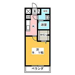 男川駅 4.4万円