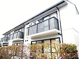 愛知県名古屋市天白区中平5丁目の賃貸アパートの外観
