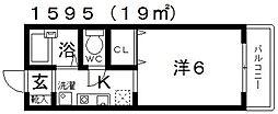 スワンヒルズ・ソフィア[102号室号室]の間取り