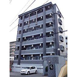 KMマンション産医大前[203号室]の外観
