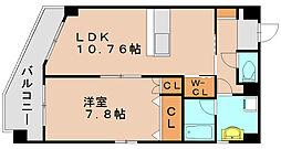 吉山ビル[4階]の間取り