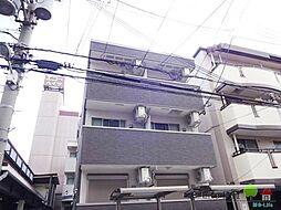 大阪府大阪市住吉区千躰2丁目の賃貸アパートの外観