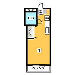 タイタンビル[3階]の間取り