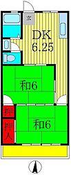 栄マンション[4階]の間取り