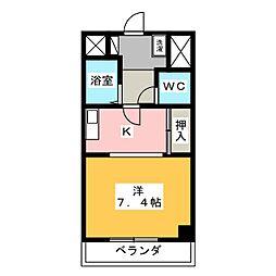 タカギビル[3階]の間取り