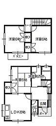 [テラスハウス] 広島県廿日市市四季が丘5丁目 の賃貸【/】の間取り