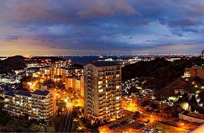 コモンヒルズ一番の高台に住む開放感 庭園と暮らしが一体となった、年を重ねるごとに美しくなる街,2LDK,面積66.59m2,価格2,150万円,京急本線 安針塚駅 徒歩9分,京急本線 逸見駅 徒歩19分,神奈川県横須賀市安針台17-1