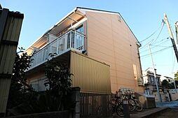 千葉県市川市鬼越2丁目の賃貸アパートの外観