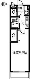 Casa Inaba[108号室]の間取り
