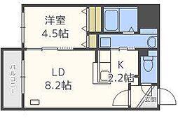 仮)北14東1マンション[5階]の間取り