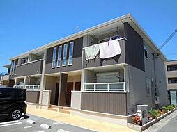 大阪府富田林市寿町3丁目の賃貸アパートの外観