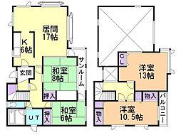 澄川6-9戸建(5-5) 4LDKの間取り