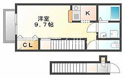 カーサワイズ[2階]の間取り