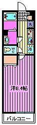 リブリ・Daimon[302号室]の間取り