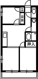 TMTハイツ[105号室]の間取り