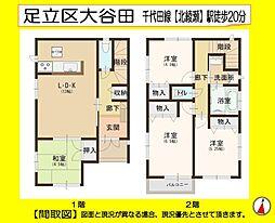 北綾瀬駅 3,180万円
