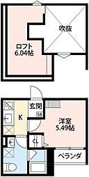La Chou Chou(ラシュシュ)[1階]の間取り
