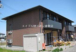岡山県倉敷市大島丁目なしの賃貸アパートの外観