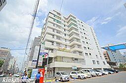 広島県広島市中区八丁堀の賃貸マンションの外観