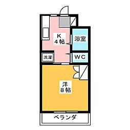 ヴィンテージ・M[3階]の間取り